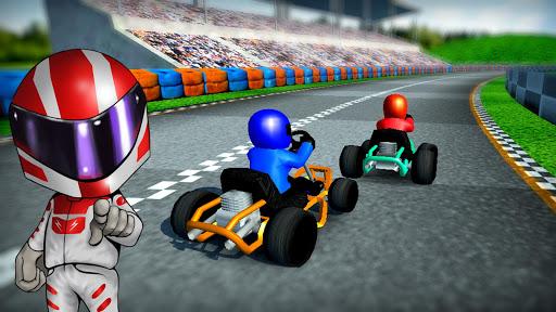 Rush Kart Racing 3D  gameplay | by HackJr.Pw 2