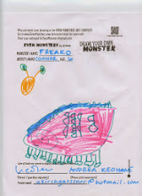 """Photo: """"Freako"""" by Connor, age 6"""