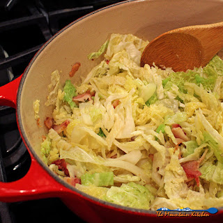 3-Ingredient Bacon-Fried Cabbage.