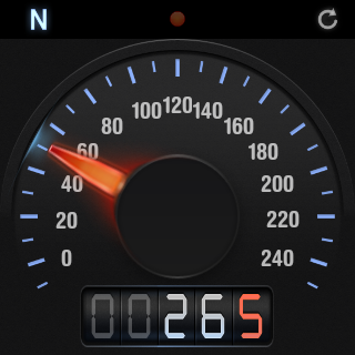 Speed Tracker, GPS speedometer- screenshot