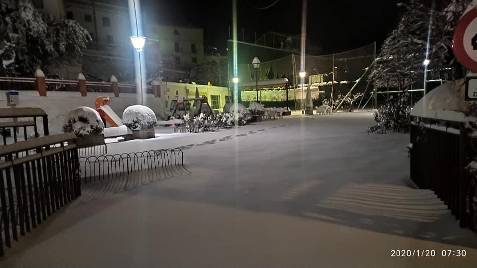 En Bacares tambíen ha nevado copiosamente. /Foto: Consuelo Medina Fernández