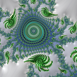 Spiral 52 by Cassy 67 - Illustration Abstract & Patterns ( digital, love, harmony, abstract art, spiral, abstract, creative, fractals, digital art, swirl, modern, light, fractal, style, energy, fashion )