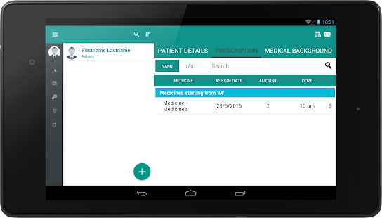 Patient Tracker- screenshot thumbnail