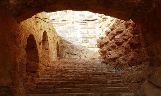 Escape From Petra In Jordan