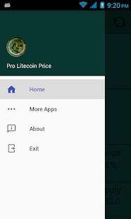 Pro Litecoin Price - náhled
