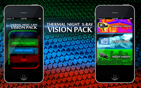 Thermal Night Xray Vision Pack 1.0 screenshot 129936