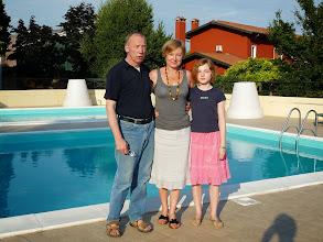 Photo: Famiglia in vacanza: foto con Piero di Gelindo