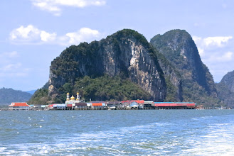 Photo: Muslim village of Koh Panyee in Phang Nga Bay
