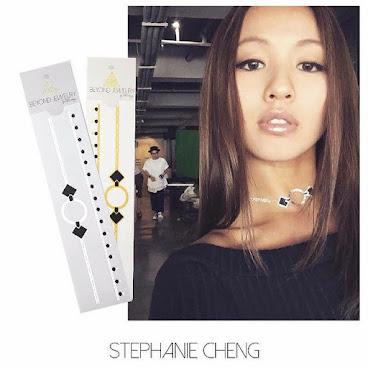 "@stephanie_cheng #鄭融 is all tat up for her comedy show #毛記電視  #hkcelebrity #hk #beyondjewelry #black #黑面神 #DiamondCat #勁曲金曲 #necklace #metallictattoos #mettat #hongkong #singer #black ""今天同是粉絲,又是演員,受訪者的我,在黑紙,毛記電視基地完成了節目拍攝。還有幸認識一班幕後主腦,真開心!在此歡樂滿些牙 謝謝各位 晚安"" from Stephanie Cheng"