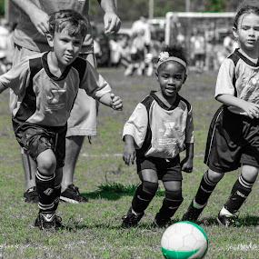 Get the Ball! by Malik Marcell - Babies & Children Children Candids ( soccer kids )