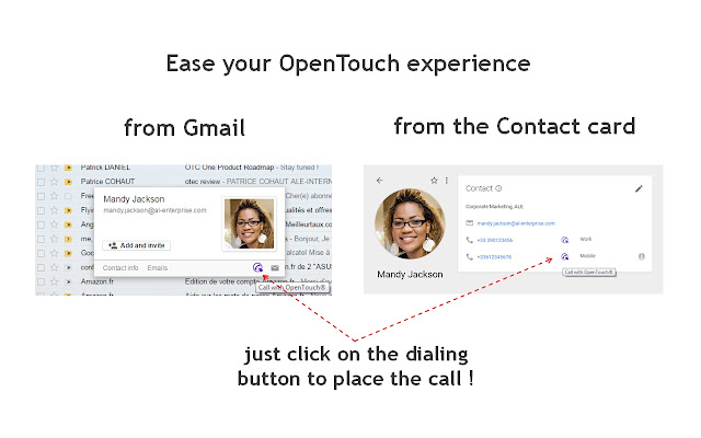 OpenTouch Click2Call