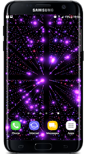 Infinite Particles 3D Live Wallpaper - náhled