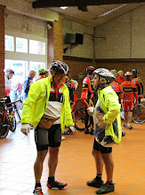 Photo: Discussion entre cyclos toulousains