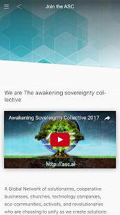 ASC - App screenshot