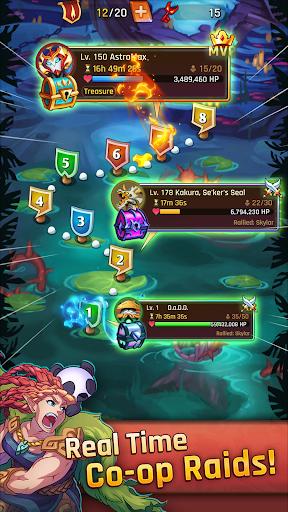 LightSlinger Heroes: Puzzle RPG  screenshots 5