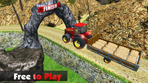 Rural Farm Tractor 3d Simulator - Tractor Games 2.1 screenshots 5