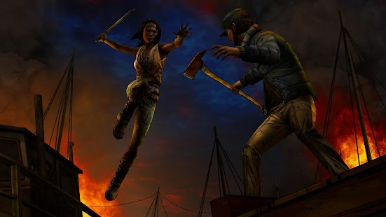 The Walking Dead: Michonne Screenshot