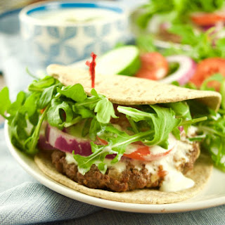 Greek Burgers With Tzatziki Sauce
