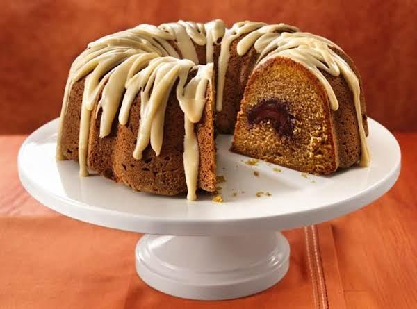 Pumpkin Pumpkin Pound Cake & Brown Butter Icing
