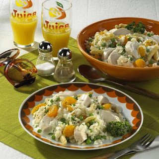Rice, Chicken and Mandarin Orange Salad