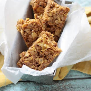 Salted PB Honey Cereal Bars.