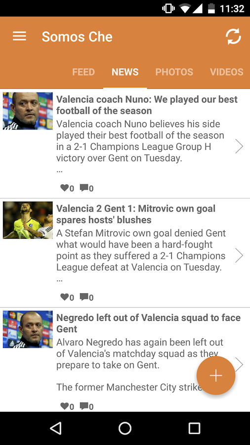 Somos Che for Valencia Fans- screenshot