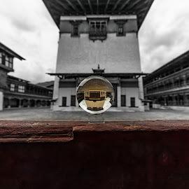 Paro Dzong, Paro, Bhutan by Ketan Vikamsey - Buildings & Architecture Places of Worship ( canon5dmarkiv, pic of the day, canonusa, wonderful places, lonelyplanet, lonelyplanetmagazineindia, natgeohd, bhutan tourism, canonphotography, natgeo, photo of the day, kv kliks, natgeotravel, bhutan, paro, gross national happiness, travel the world pix, bbctravels, ketan vikamsey, paro dzong )