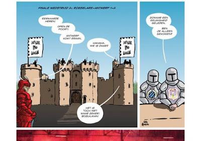 Win jouw versie van 'Bosuilman', hét stripboek bij uitstek over Antwerp