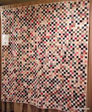 """Photo: #13-antique, Karen Anderson, """"Scrappy Checkerboard"""""""