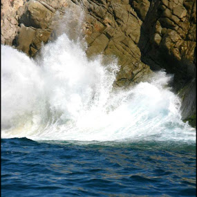 Waves of Cabo by Cindy Walker - Nature Up Close Water