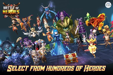 Battle of Heroes 10.61.38 MOD [x50 Attack/Health/Speed] Apk 1