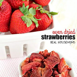 Oven Dried Strawberries Recipe
