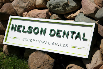 Photo: Dental Office Sign in Albert lea Minnesota. Get a price quote at http://www.nicecarvings.com/