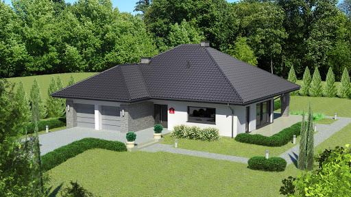 projekt Dom przy Kwiatowej 2 bis