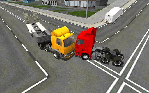 Euro Truck Driving Sim 2018 3D 1.04 screenshots 1