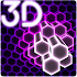 Hex Particles 3D Live Wallpaper 1.0.8 (Paid)
