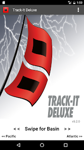 Track-It Deluxe for Hurricanes screenshot 0