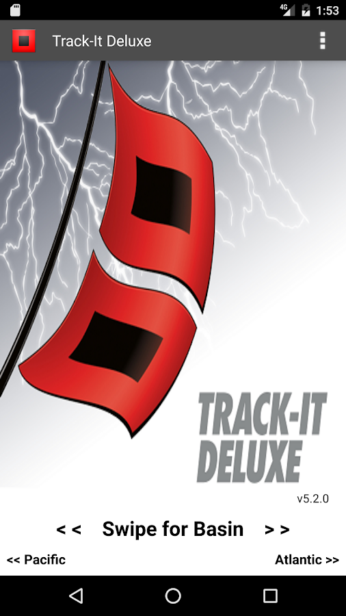 Track-It Deluxe for Hurricanes- screenshot