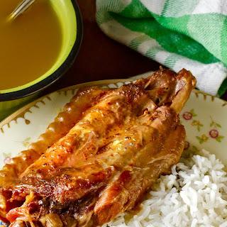 Creole Stuffed Turkey Wings.