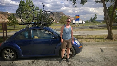 Photo: August 11-Soldiering on to Arizona (after a caffeine fix in Gallup).