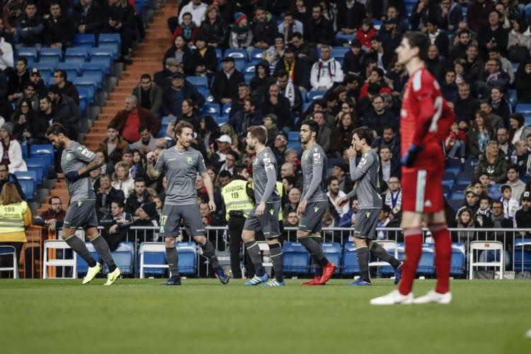 Altercations entre les supporters et les joueurs du Real Madrid