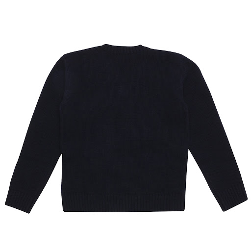 Thumbnail images of Gucci Navy Wool Knit Jumper