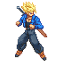Gokuu Color Pixel by Number - Dragon Sandbox Pixel icon