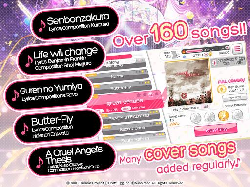 BanG Dream! Girls Band Party! 3.8.0 screenshots 20