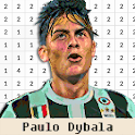 Football Player Color By Number - Pixel Art icon