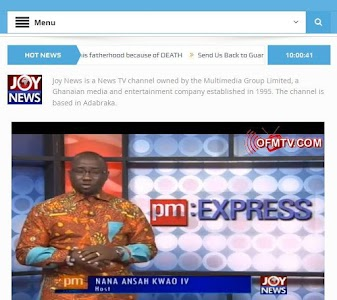 GhanaSky GTV, Adom TV screenshot 2