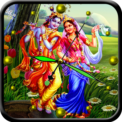 Radha Krishna Analog Clock - Apps on Google Play