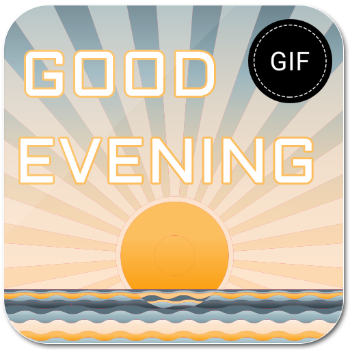 Good Evening GIF Maker app (apk) free download for Android
