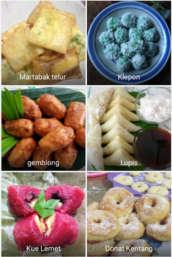 Jajanan Rendah Kalori : jajanan, rendah, kalori, Download, Aneka, Resep, Jajanan, Pasar, Android, STEPrimo.com