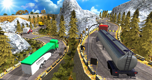 Euro Truck Uphill Simulator for Android apk 1